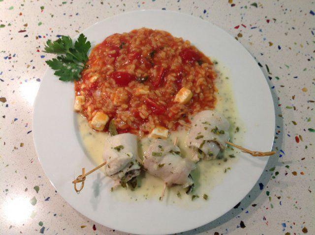 Hauptspeise beim Nachbarschafts-Kochevent von DOCHOWs Küchen mit Geschmack in Berlin