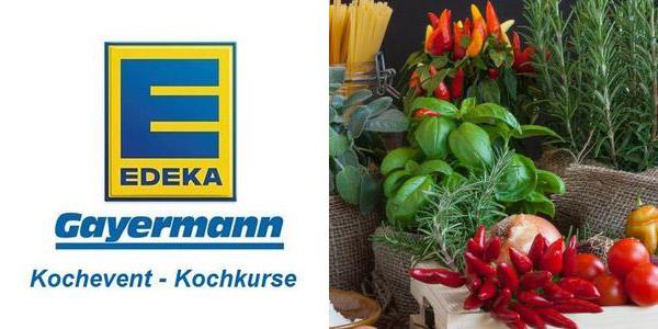 Logo EDEKA Gayermann Kochevent