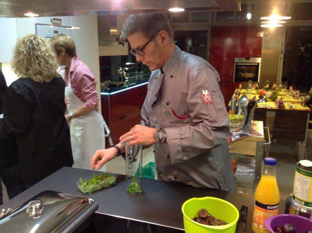 Kochevent Herbstküche bei DOCHOWs Küchen mit Geschmack in Berlin