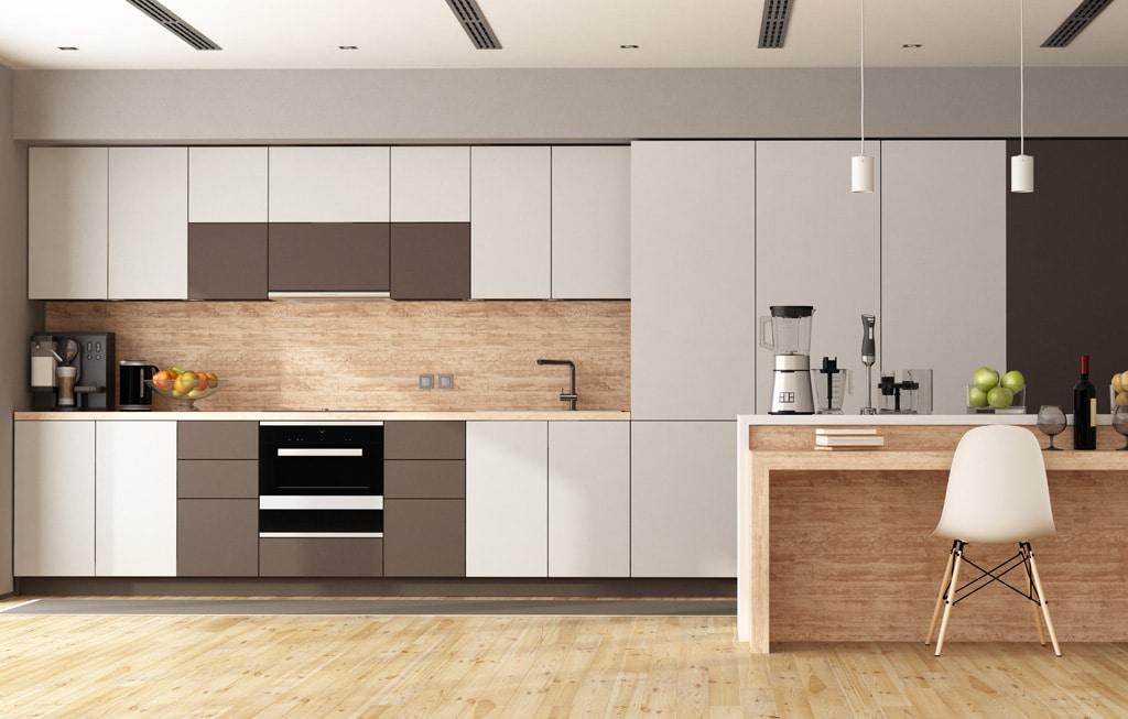 Moderne Küche im Küchenstudio DOCHOWs Küchen mit Geschmack in Berlin Steglitz