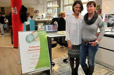 Treffpunkt Wunschfigut beim Eventshopping an Ostern von DOCHOWs Küchen mit Geschmack in Berlin
