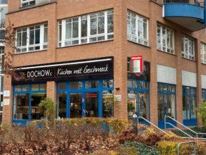 Außenansicht Ecke von DOCHOWs Küchen mit Geschmack in Berlin