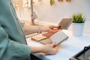 Küchenarbeitsplatten Auswahl an verschieden Materialien und Designs